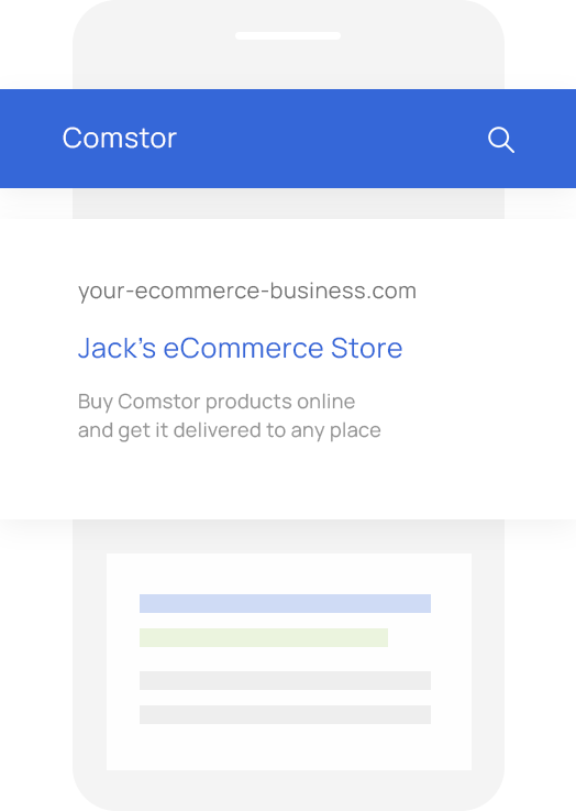 Sales Quoting and eCommerce Software for Comstor VARs