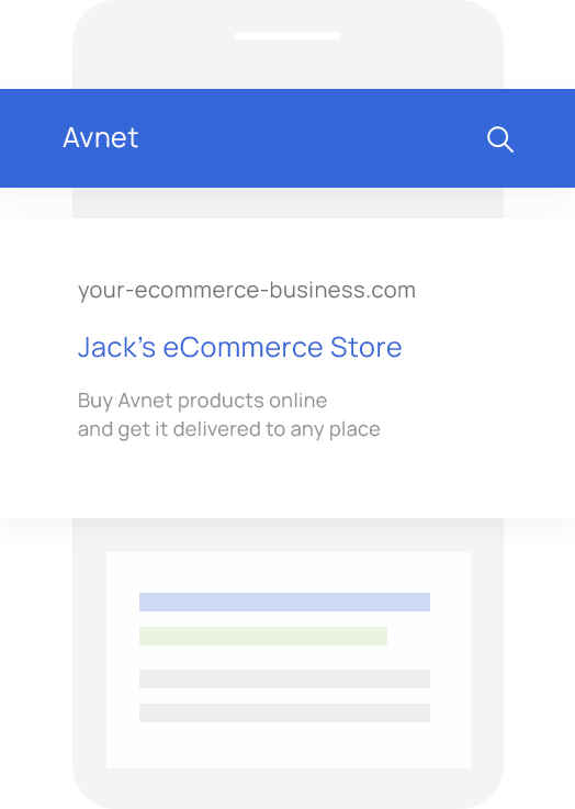 Sales Quoting and eCommerce Software for Avnet VARs