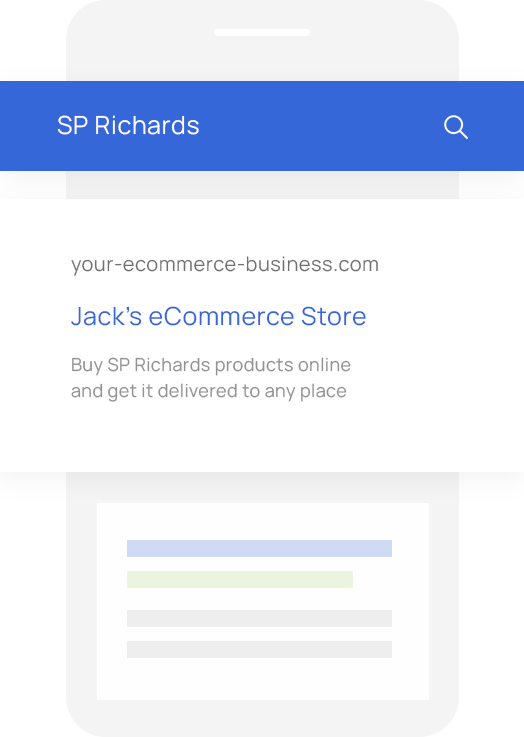 Sales Quoting and eCommerce Software for SP Richards VARs