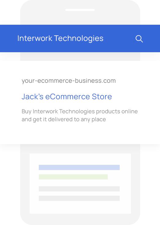 Sales Quoting and eCommerce Software for Interwork Technologies VARs