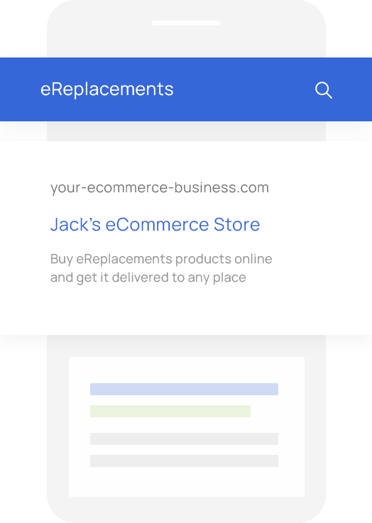 Sales Quoting and eCommerce Software for Ereplacements VARs