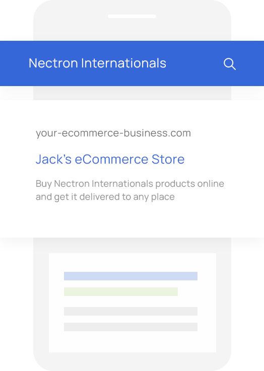 Sales Quoting and eCommerce Software for Nectron Internationals VARs