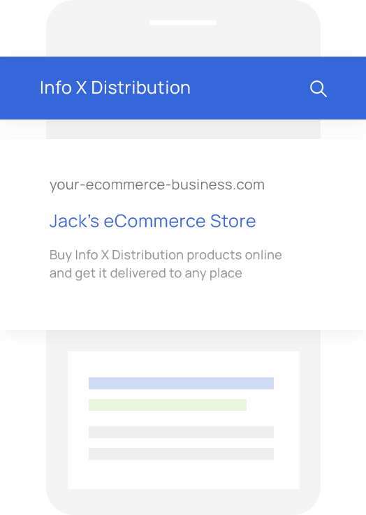 Sales Quoting and eCommerce Software for Info X Distribution VARs