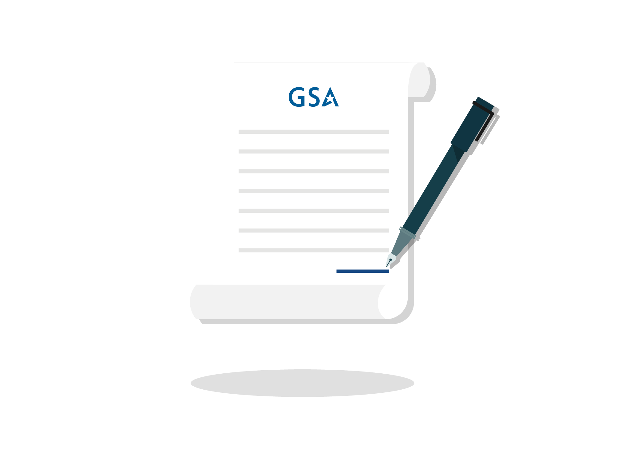 documents for GSA Schedule Government Contract